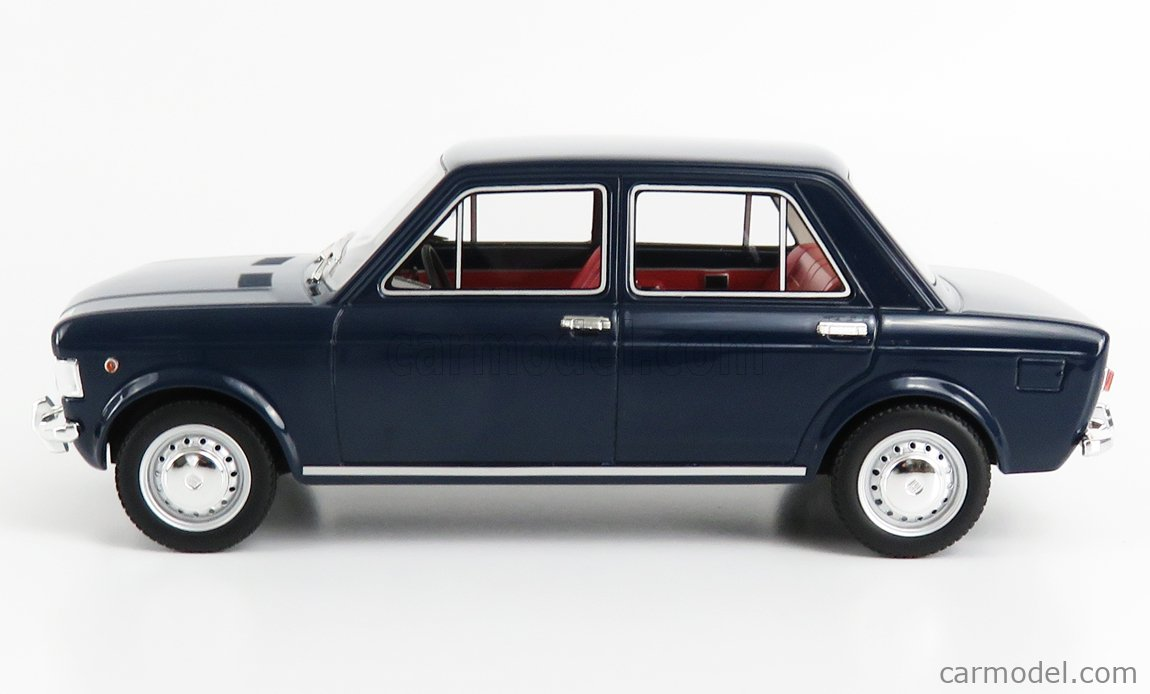 LAUDORACING LM112CC1 Scala 1/18  FIAT 128 1-SERIES CARABINIERI TRASPORTO UFFICIALI 1969 BLUE