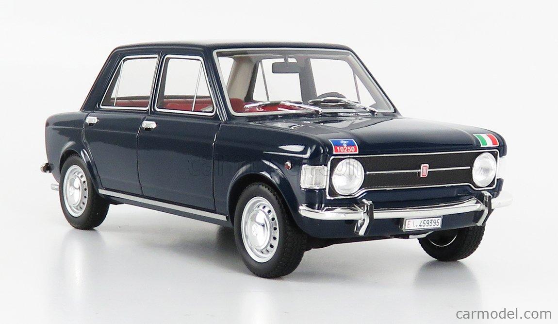 LAUDORACING LM112CC1 Masstab: 1/18  FIAT 128 1-SERIES CARABINIERI TRASPORTO UFFICIALI 1969 BLUE