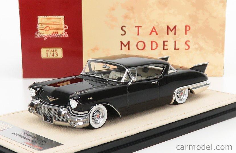 STAMP-MODELS STM57003 Scale 1/43  CADILLAC ELDORADO SEVILLE 1957 BLACK