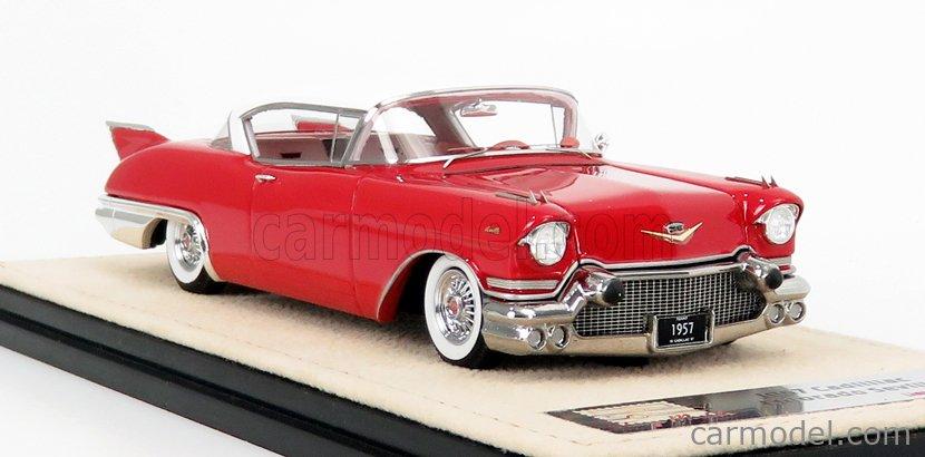 STAMP-MODELS STM57001 Scale 1/43  CADILLAC ELDORADO SEVILLE 1957 DAKOTA RED