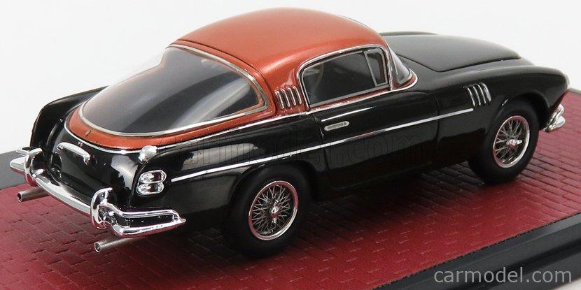 MATRIX SCALE MODELS MX50108-142 Масштаб 1/43  ASTON MARTIN DB2/4 VIGNALE HRH KING BAUDOUIN 1954 BLACK COPPER