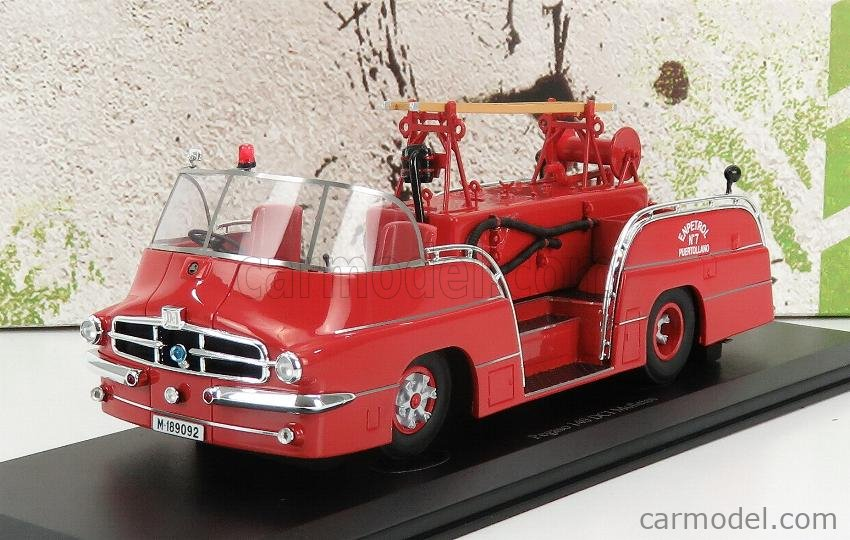AUTOCULT ATC12008 Masstab: 1/43  PEGASO 140 DCI MOFLETES SCALE TRUCK FIRE ENGINE SPAIN 1959 RED
