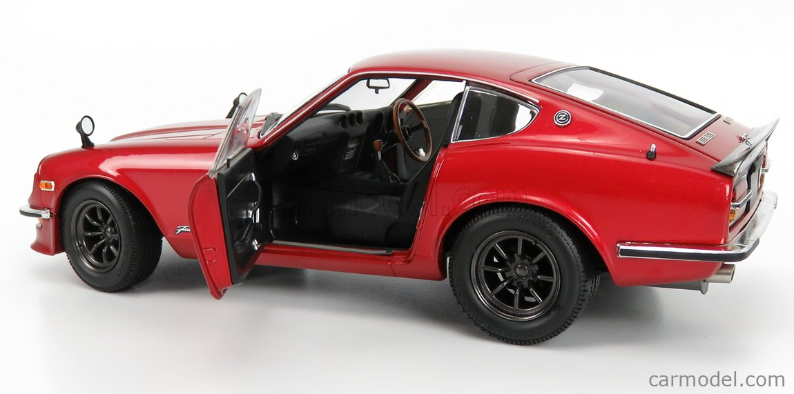 KYOSHO 08220RM Scale 1/18  NISSAN FAIRLADY Z-L (S30) 1970 RED MET