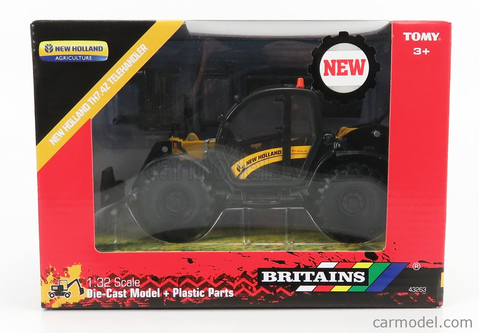 Ans 43263 Britains New Holland TH7.4Z télescopique 1:32 Die-Cast Modèle agricole 3