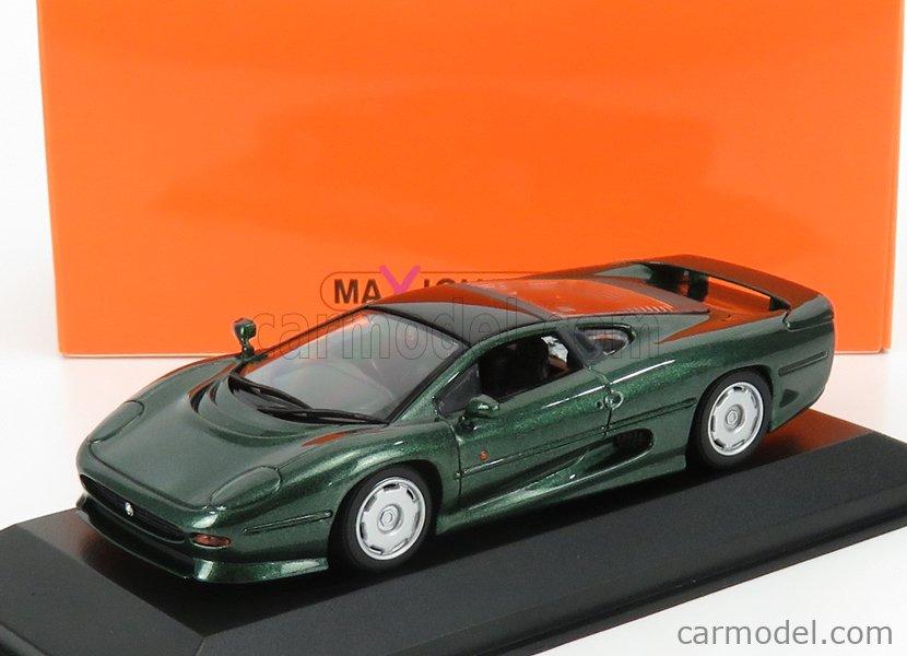 Wow extrêmement rare Jaguar XJ220 Twin Turbo 542HP 1991 br vert 1:43 Minichamps