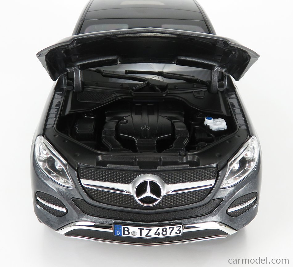 NOREV 183790 Scale 1/18  MERCEDES BENZ GLE-CLASS COUPE 2015 GREY MET