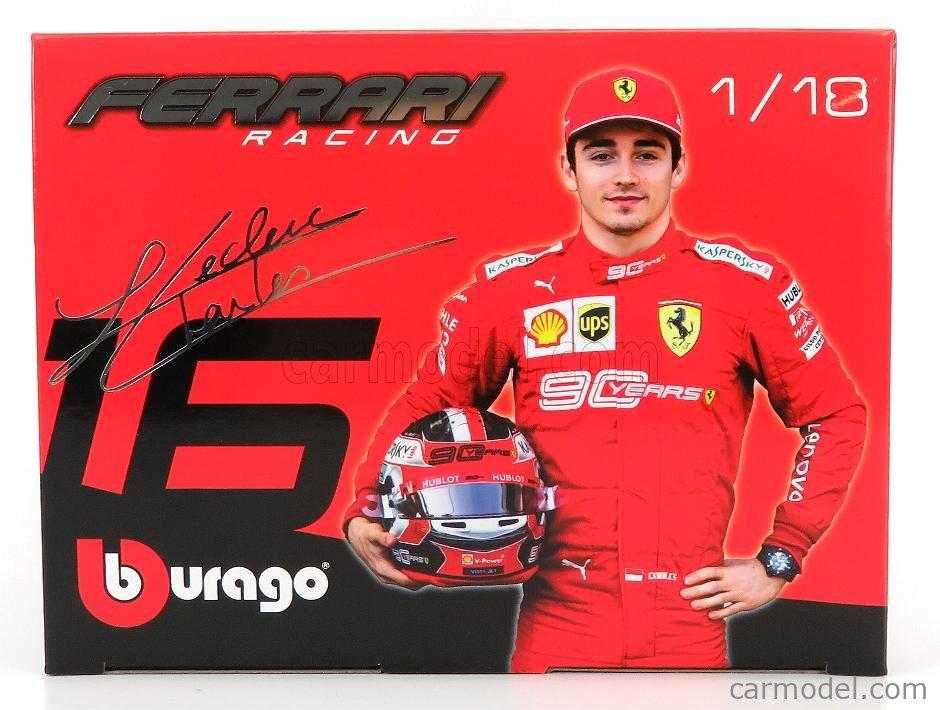 Ferrari F1 Sf90 #16 Winner Italy Monza Gp 2019 C.Leclerc BURAGO 1:18 BU16810