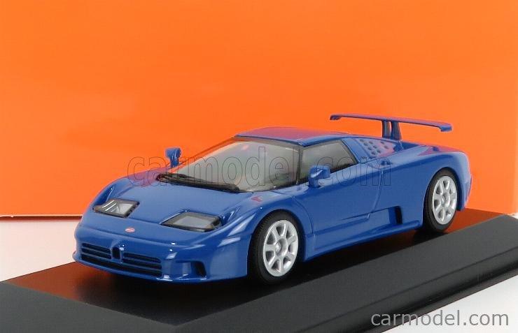 Minichamps 1:43 BUGATTI EB 110-1994 BLUE