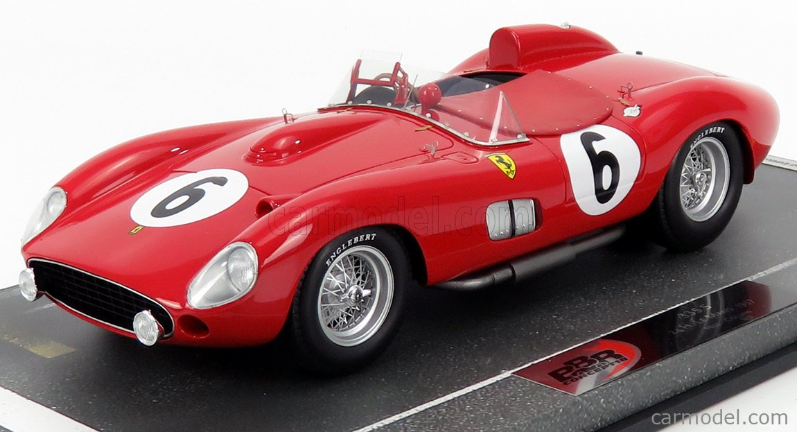 Bbr Models Bbrc1807f Masstab 1 18 Ferrari 335s Scuderia Ferrari N 6 24h Le Mans 1957 Phil Hill Peter Collins Red