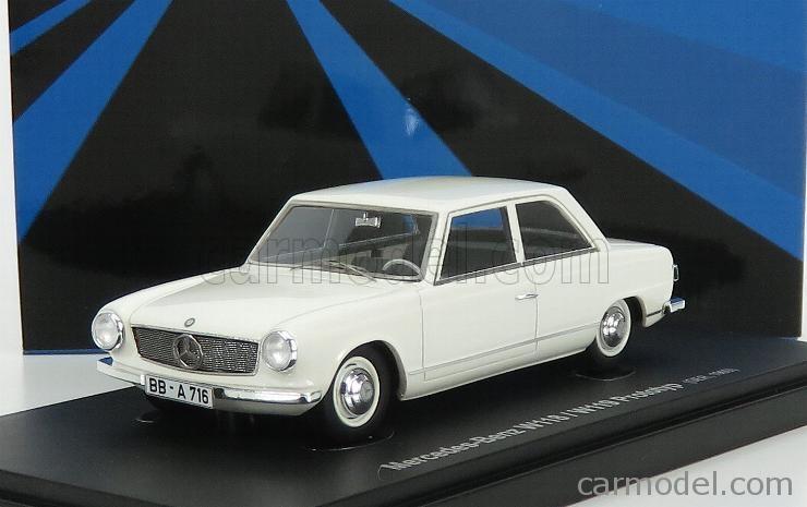 AVENUE43 ATC60048 Scale 1/43  MERCEDES BENZ W118 PROTOTYPE GERMANY 1960 WHITE