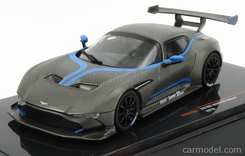 Ixo Models Moc298 Masstab 1 43 Aston Martin Vulcan Coupe 2015 Matt Grey Blue