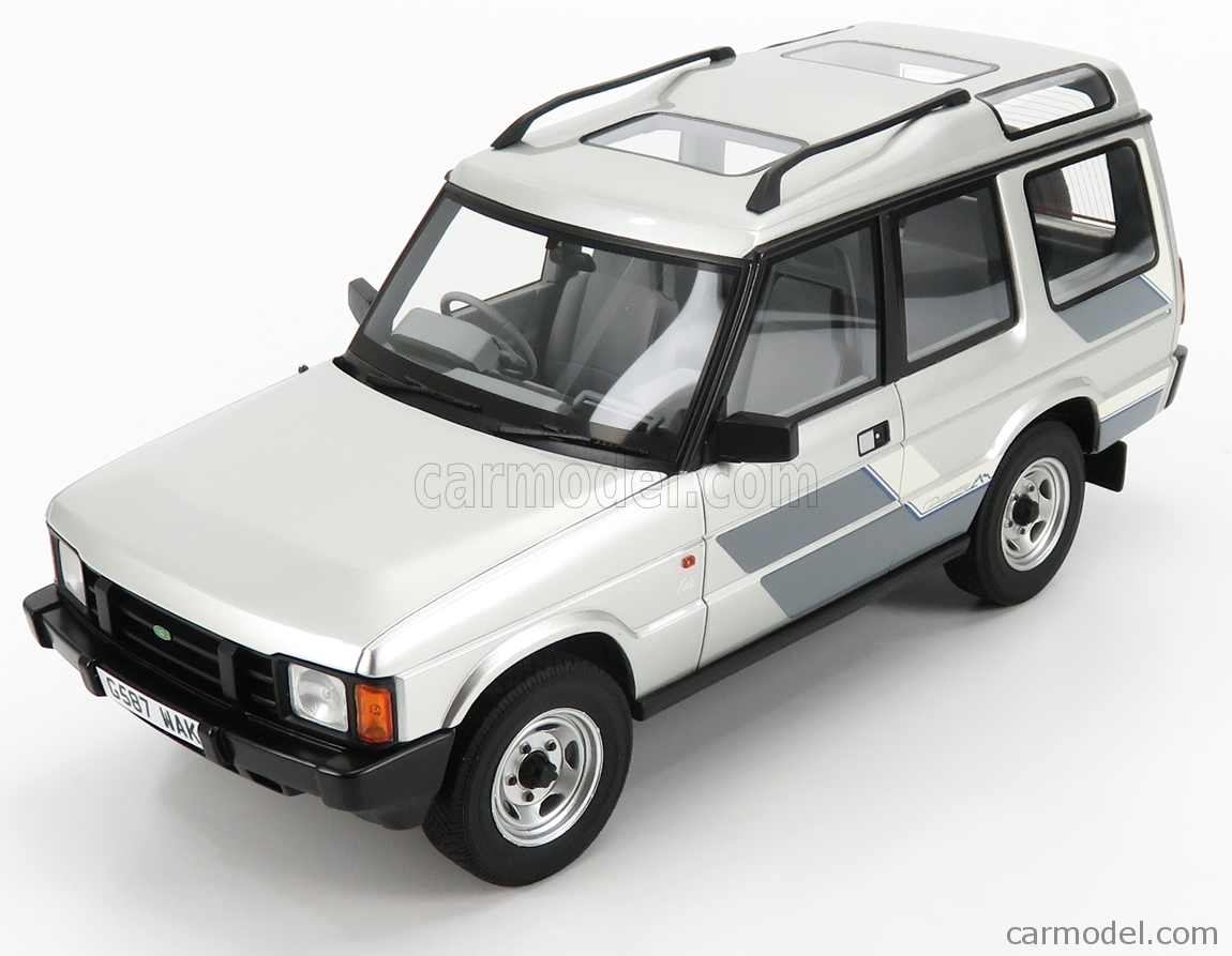 Cult Scale Models Cml081 2 Scale 1 18 Land Rover Discovery 2 Series 1989 Silver Met