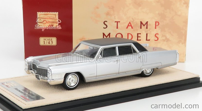 STAMP-MODELS STM65202 Scale 1/43  CADILLAC FLEETWOOD 60 SPECIAL 1965 SILVER