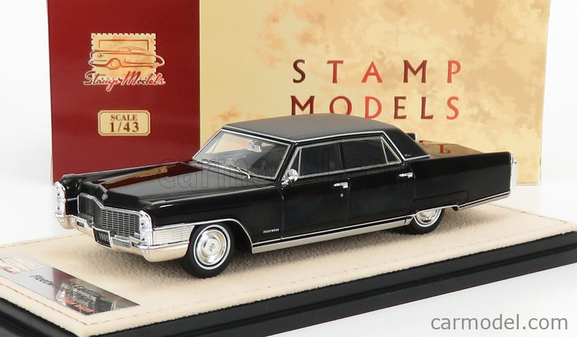 STAMP-MODELS STM65201 Scale 1/43  CADILLAC FLEETWOOD 60 SPECIAL 1965 BLACK
