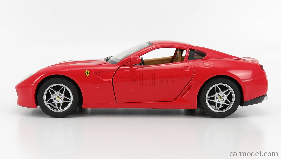 Mattel Hot Wheels J2859 0510 Scale 1 18 Ferrari 599 Gtb Fiorano 2006 Red