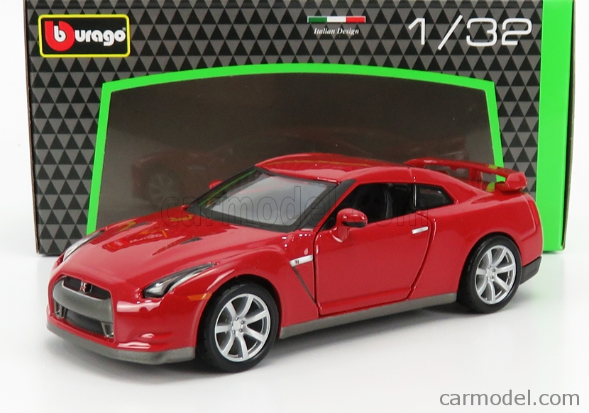 BURAGO BU43053 Scale 1/32  NISSAN GT-R (R35) COUPE 2009 RED