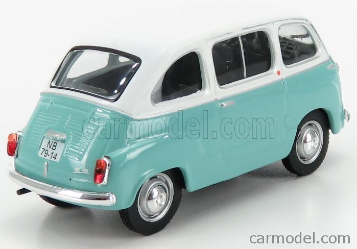 EDICOLA 138048 Scale 1/43  FIAT 600 MULTIPLA 1 SERIES 1956 BLUE GREY WHITE