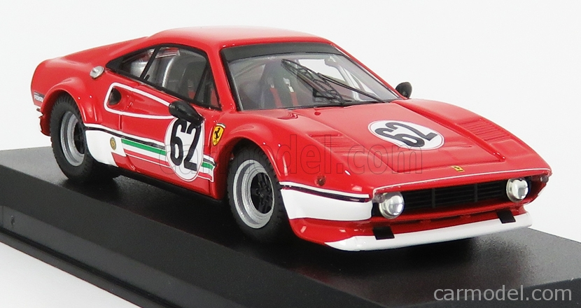 BEST-MODEL 9789 Scale 1/43  FERRARI 308 GTB LM N 62 HAVIRON INTERNATIONAL 1981 M.DANTINNE  RED WHITE