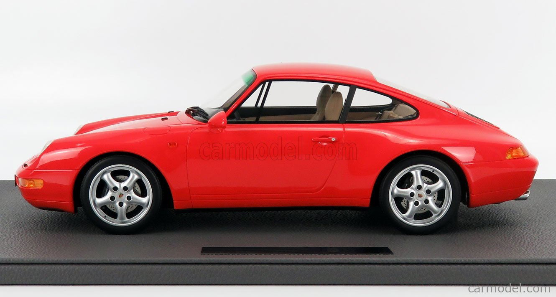 TOPMARQUES TM12-18E Scale 1/12  PORSCHE 911 993 CARRERA 2 COUPE 1994 RED