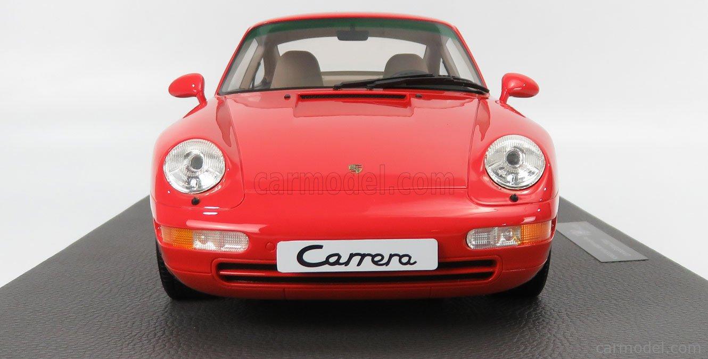 TOPMARQUES TM12-18E Scala 1/12  PORSCHE 911 993 CARRERA 2 COUPE 1994 RED
