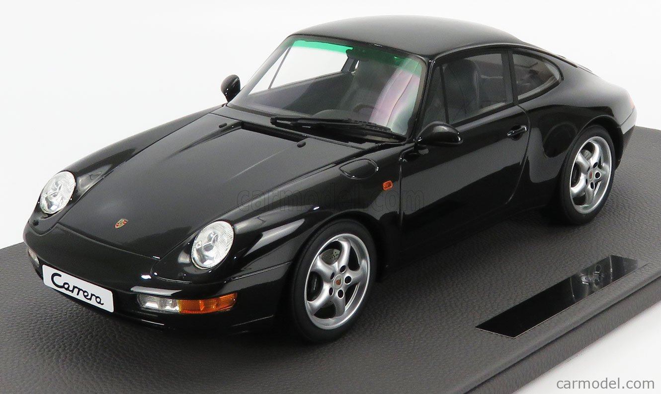 TOPMARQUES TM12-18D Scale 1/12  PORSCHE 911 993 CARRERA 2 COUPE 1994 BLACK