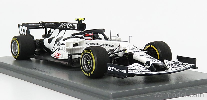 SPARK-MODEL S6480 Scale 1/43  ALPHA TAURI F1  AT01 HONDA RA620H TEAM ALPHA TAURI F1 N 10 WINNER MONZA ITALY GP 2020 P.GASLY WHITE BLUE