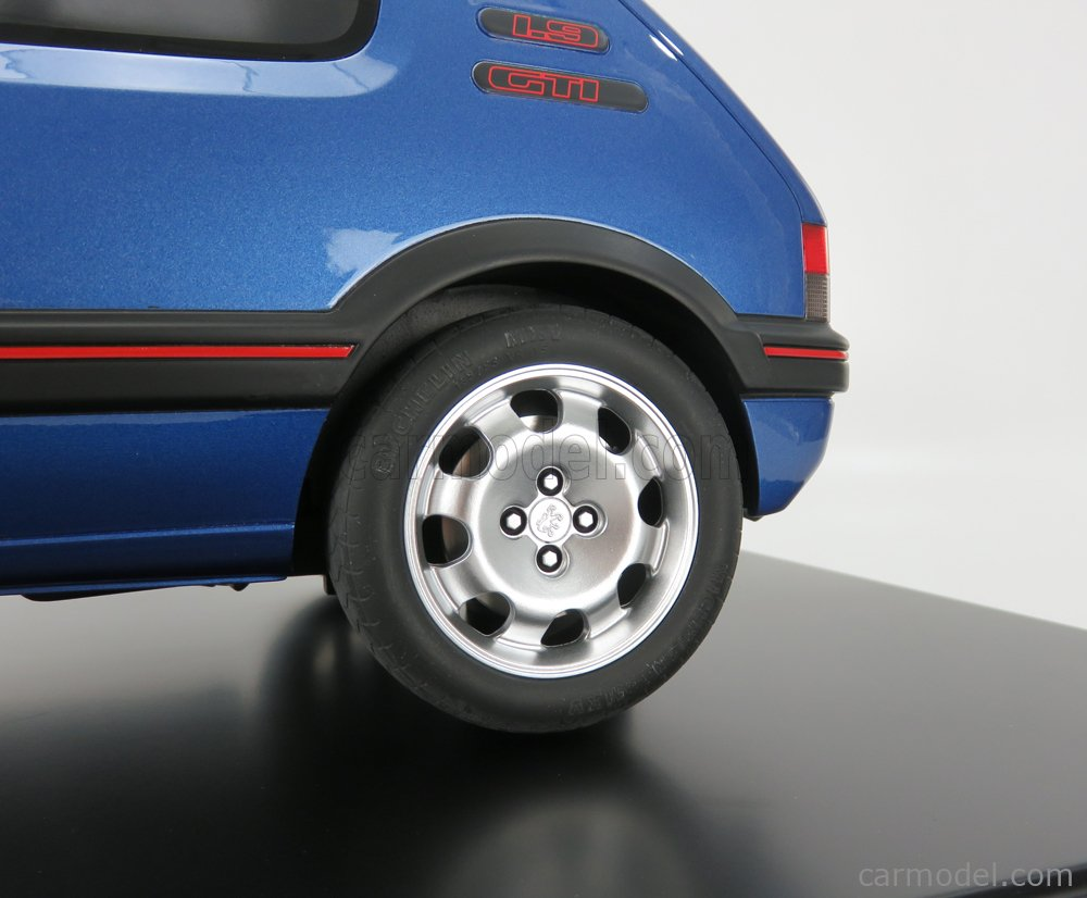GT-SPIRIT GTS800402 Scale 1/8  PEUGEOT 205 1.9 GTi 1991 MIAMI BLUE
