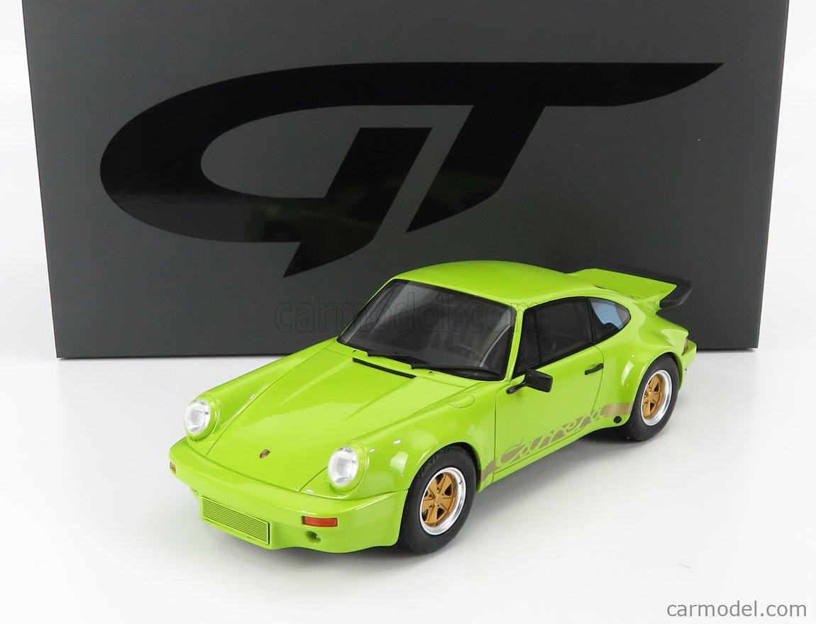 GT-SPIRIT GT822 Scale 1/18  PORSCHE 911 CARRERA RS 3.0 COUPE 1974 BIRCH GREEN