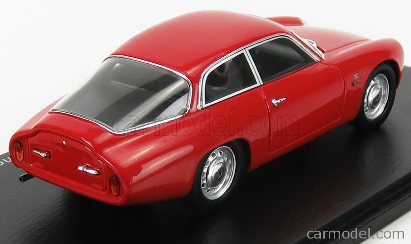 SPARK-MODEL S9048 Scale 1/43  ALFA ROMEO GIULIETTA SPORT ZAGATO CODA TRONCA 1962 RED