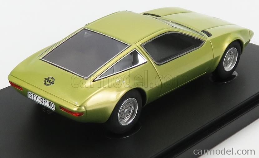 AVENUE43 ATC60049 Scale 1/43  OPEL GT GENEVE CONCEPT 1975 YELLOW