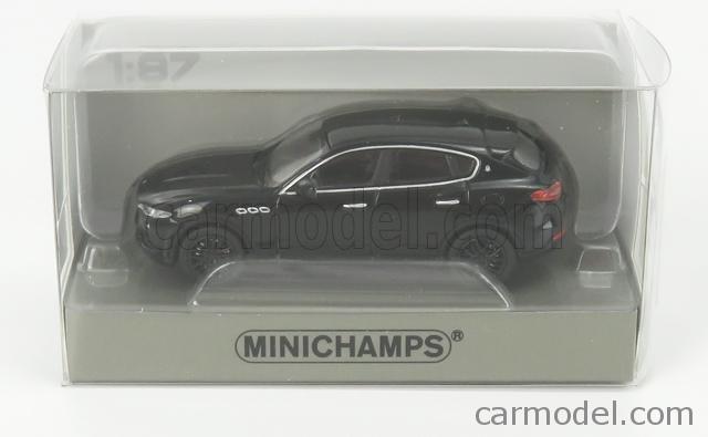 2018  1:87 Minichamps black Maserati Levante
