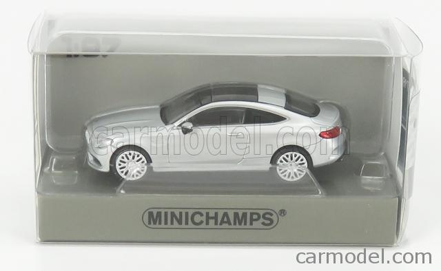 #870037024 Silber Minichamps Mercedes-AMG C63 C-Klasse Coupe 2015-1:87