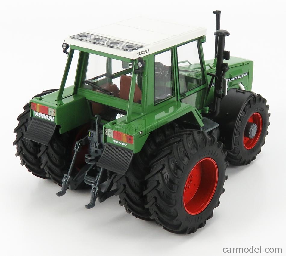 SCHUCO 450781400 Masstab: 1/32  FENDT FAVORIT 626 TRACTOR LSA 1999 GREEN WHITE