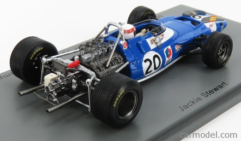 Matra MS80 Ford Jackie Stewart Winner Formel 1 Spanien 1969  1:43 Spark 7190 NEU