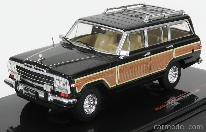 IXO-MODELS CLC328N Masstab: 1/43  JEEP GRAND WAGONEER 4WD 1989 BLACK WOOD