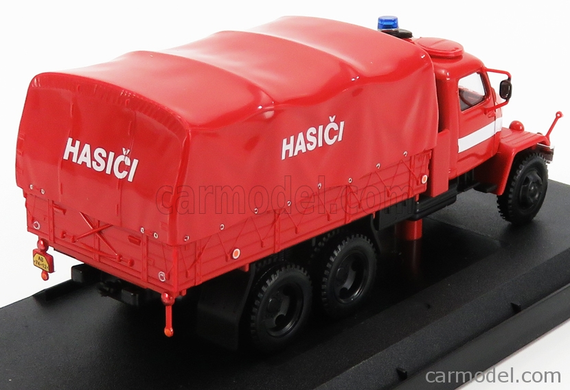 ABREX 143T-002B Масштаб 1/43  PRAGA V3S TRUCK HASICI FIRE ENGINE TELONATO 1967 RED WHITE