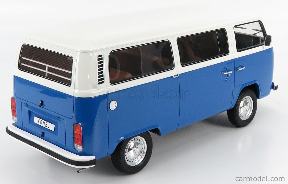 OTTO-MOBILE G040 Scale 1/12  VOLKSWAGEN BUS T2 MINIBUS 1978 WHITE BLUE