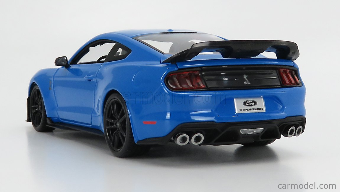MAISTO 31452LBL Scale 1/18  FORD USA MUSTANG SHELBY GT500 COUPE 2020 LIGHT BLUE