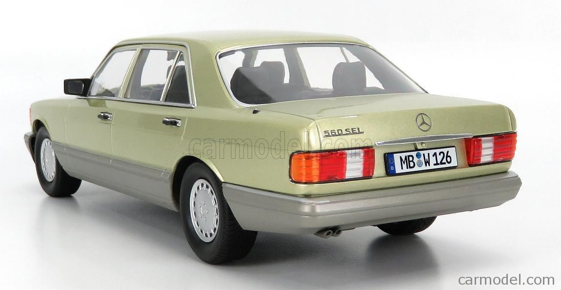 - 1985-118000000060 MERCEDES-BENZ 560 SEL S CLASS W126 I-SCALE 1//18