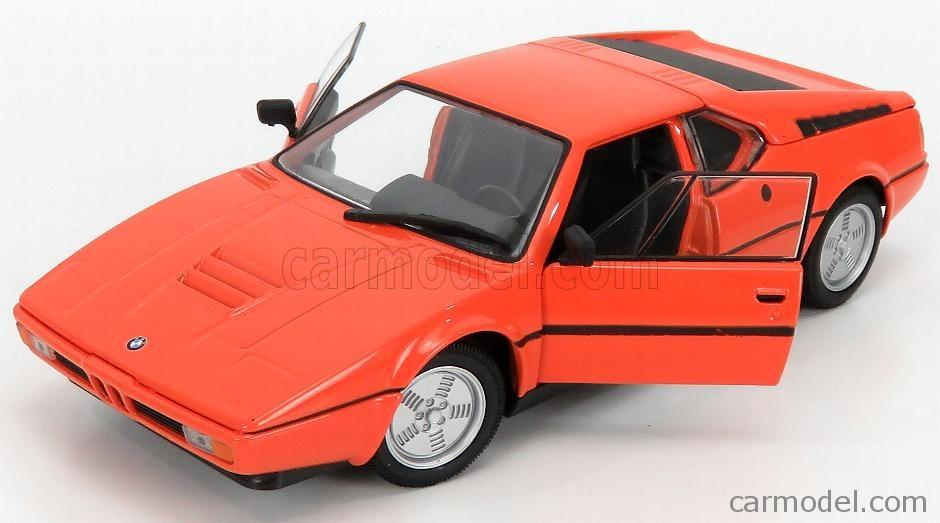 WELLY WE24098OR Echelle 1/24  BMW M1 1987 ORANGE