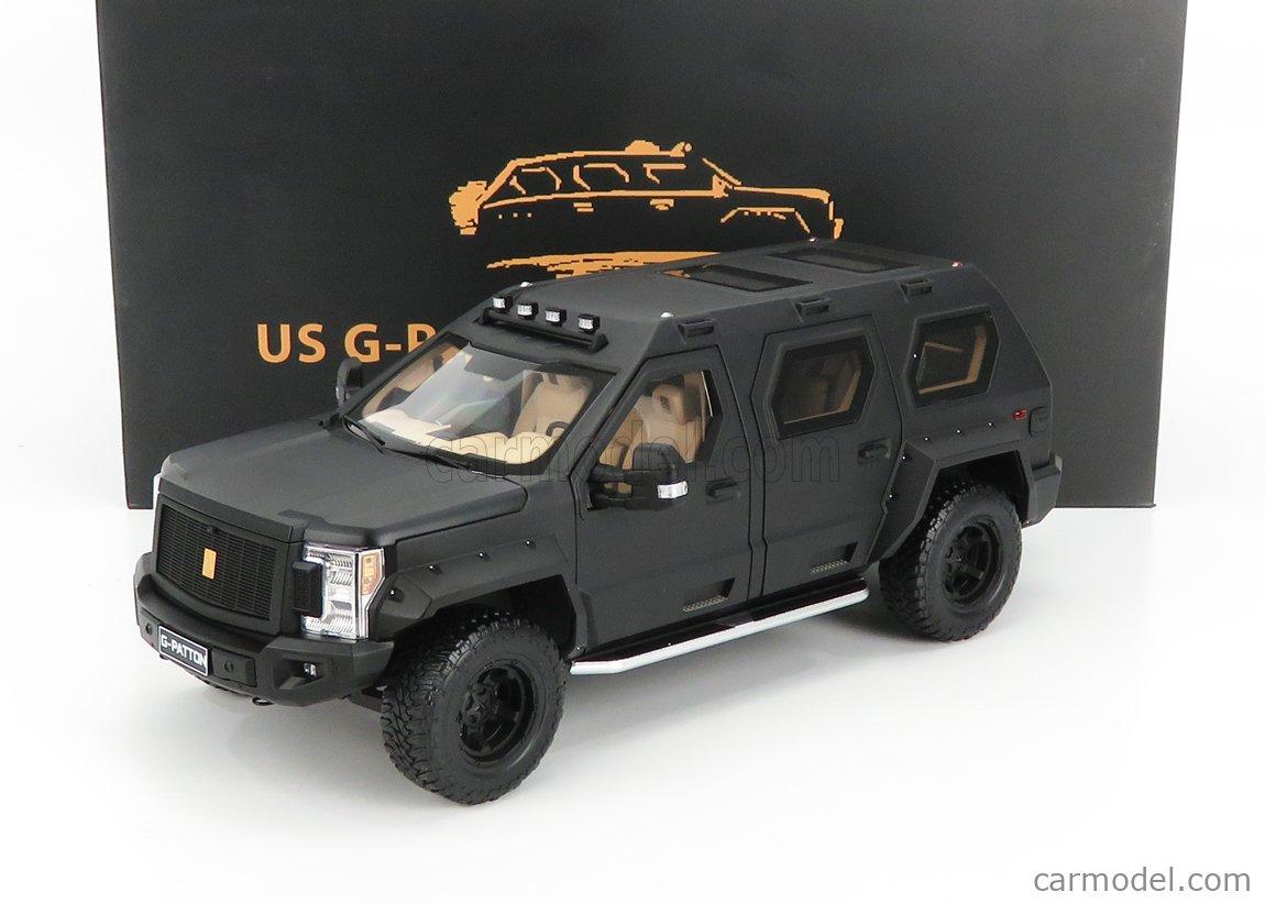 NZG VAKF-0251 Scale 1/18  USSV G-PATTON GX SUV 2018 BLACK