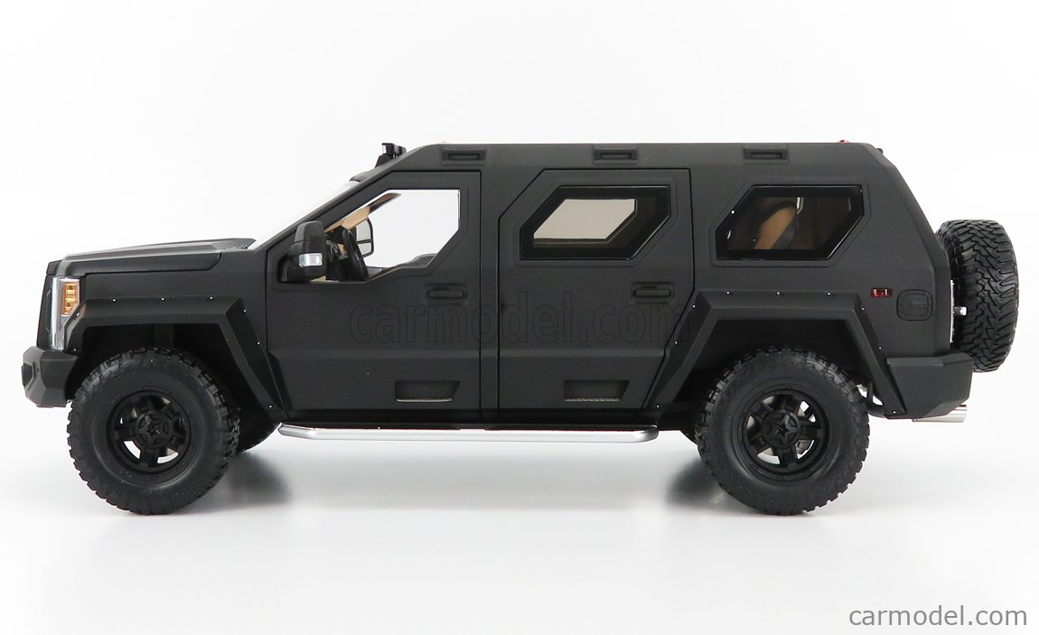 NZG VAKF-0251 Scala 1/18  USSV G-PATTON GX SUV 2018 BLACK