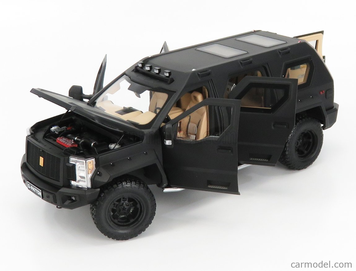 NZG VAKF-0251 Масштаб 1/18  USSV G-PATTON GX SUV 2018 BLACK