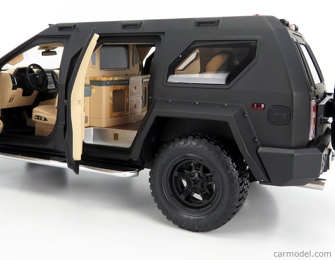 NZG VAKF-0251 Escala 1/18  USSV G-PATTON GX SUV 2018 BLACK