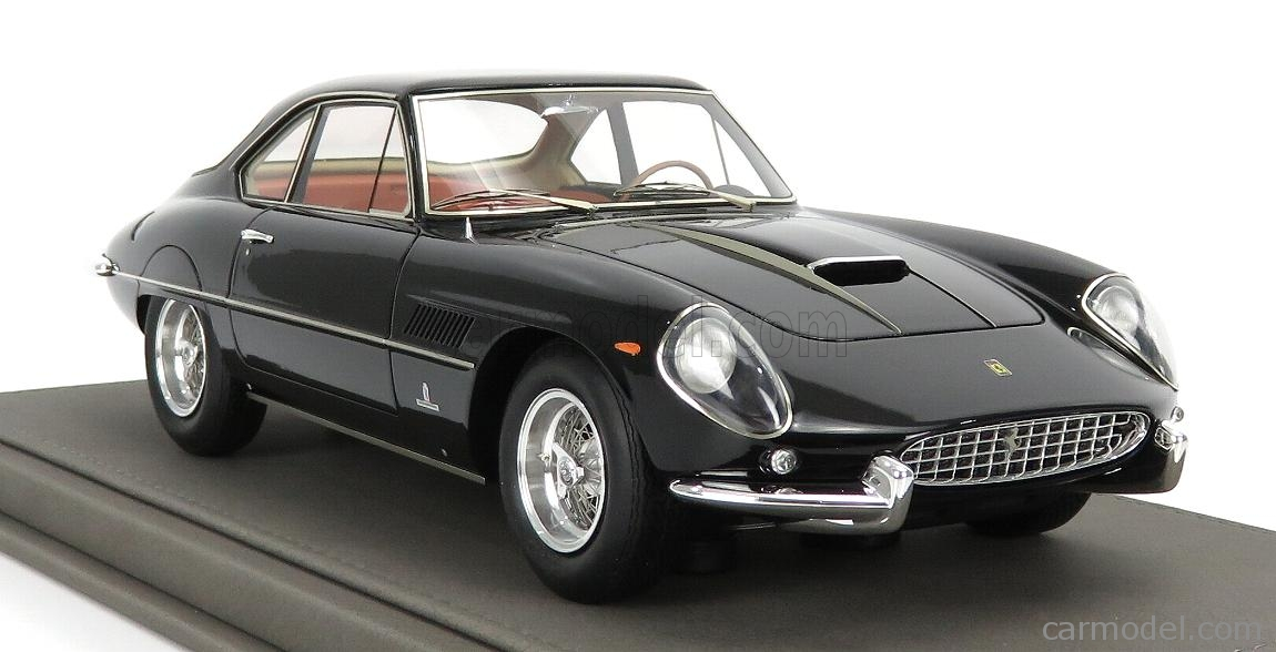 BBR-MODELS BBR1849C-VET Scale 1/18  FERRARI 400SA SUPERAMERICA 1-SERIES COUPE 1961 - CON VETRINA - WITH SHOWCASE BLACK
