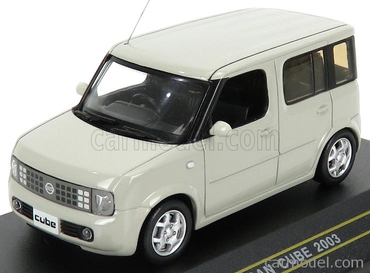 FIRST43-MODELS F43-087 Scale 1/43  NISSAN CUBE 2003 LIGHT GREY