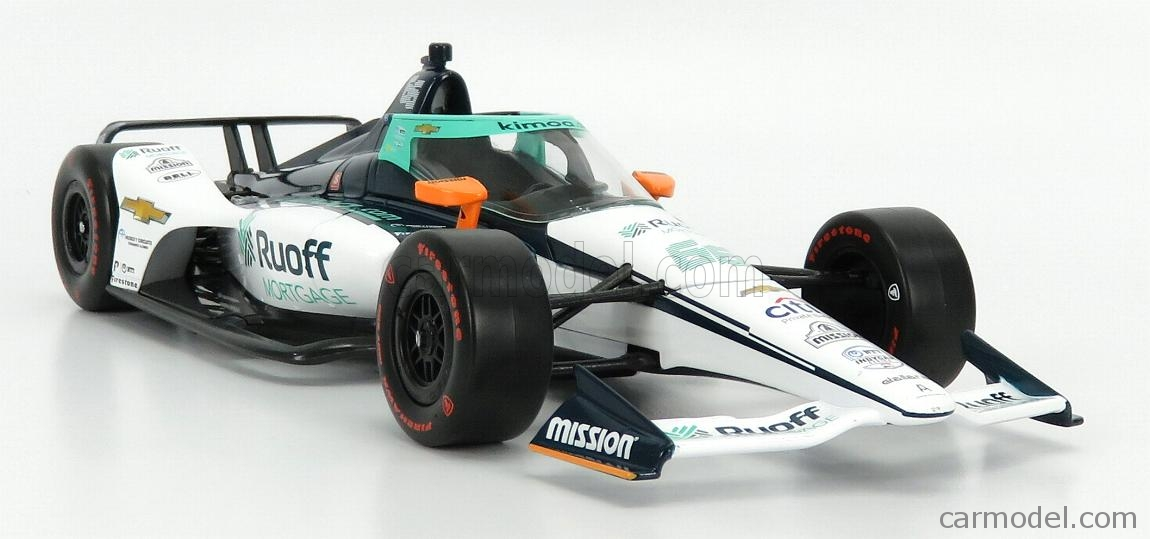 GREENLIGHT 11097 Masstab: 1/18  CHEVROLET TEAM ARROW McLAREN SP N 66 INDIANAPOLIS INDY 500 INDYCAR SERIES 2020 FERNANDO ALONSO WHITE BLUE
