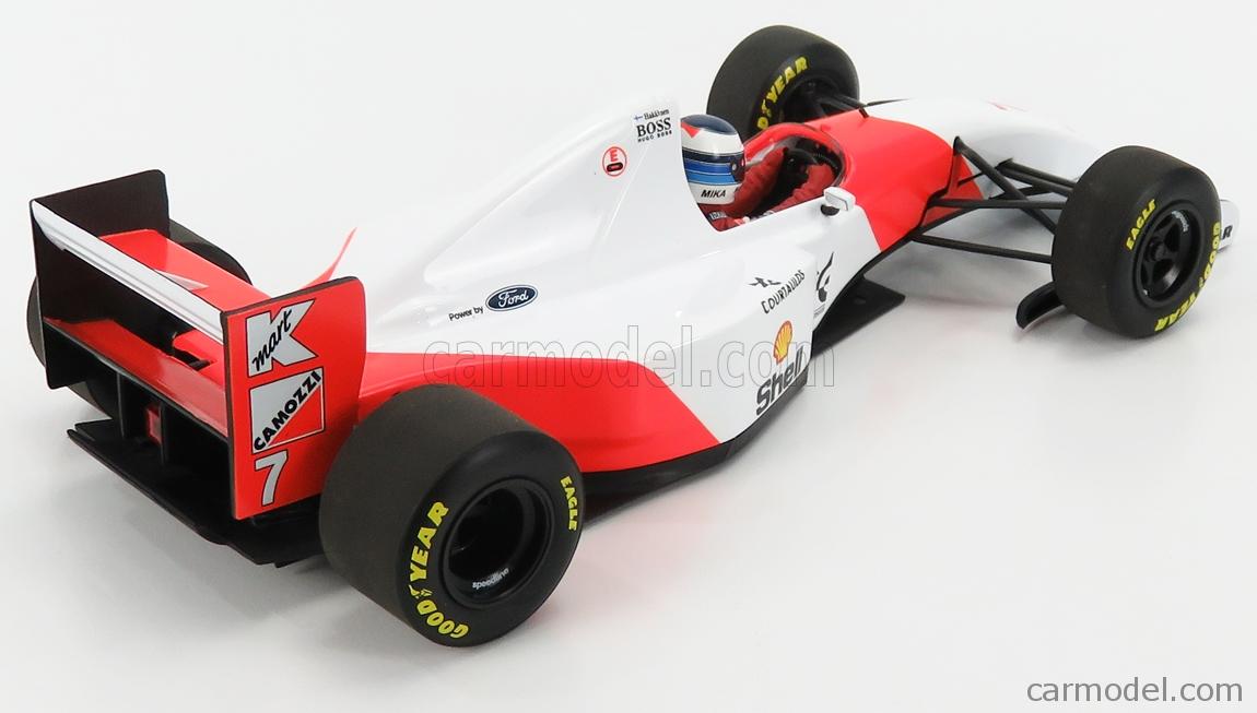 MINICHAMPS 530931837 Masstab: 1/18  McLAREN F1  FORD MP4/8 V8 N 7 JAPANESE GP 1993 MIKA HAKKINEN WHITE RED
