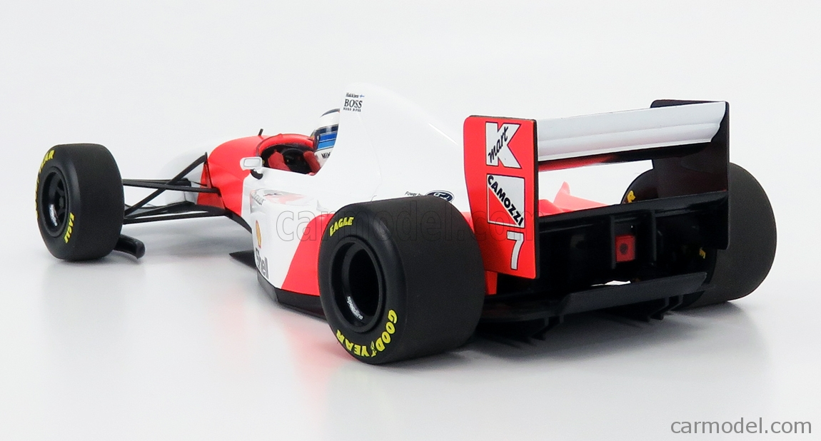 MINICHAMPS 530931837 Scale 1/18  McLAREN F1  FORD MP4/8 V8 N 7 JAPANESE GP 1993 MIKA HAKKINEN WHITE RED