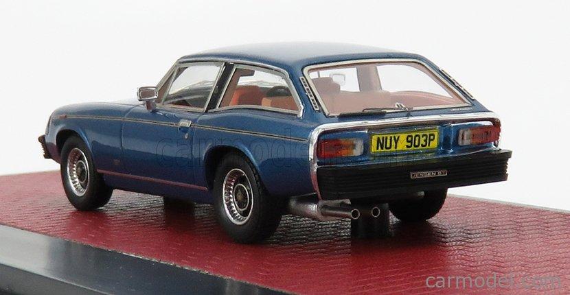 MATRIX SCALE MODELS MX41002-142 Scale 1/43  JENSEN GT 1975 LIGHT BLUE MET